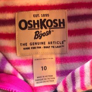 OshKosh B'gosh Shirts & Tops - Osh Kosh Girls Fleece Half Zip Hoodie